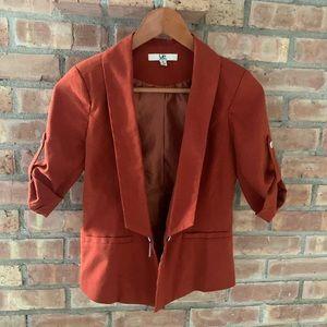 Dry goods burnt orange blazer